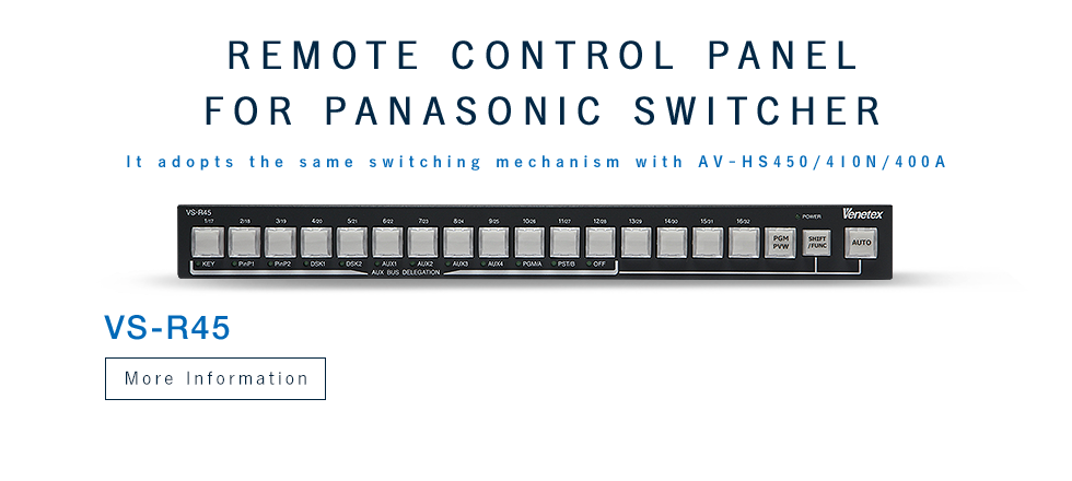 Remote Control Panel for Panasonic Switcher
